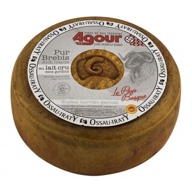 PDO Ossau Iraty raw milk cheese (4.3kg)